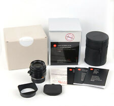 New Leica Summilux-M 35mm f/1.4 ASPH black #11663 for M8 M9 M9P M-P M Monochrom