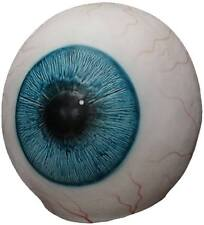 Big Giant Eyeball Latex Mask One Huge Eye Adult Blue Funny Scary Halloween Prop