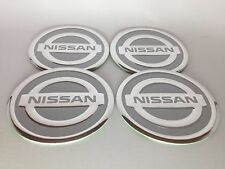 NEW 4pcs Decal Alu Stickers for Wheel Centre Cap Hubs for NISSAN - 60mm