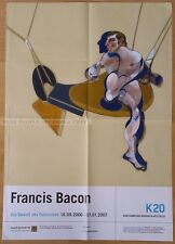 GERMAN EXHIBITION POSTER 2006 - FRANCIS BACON - VIOLENCE OF FACTUAL * ART PRINT