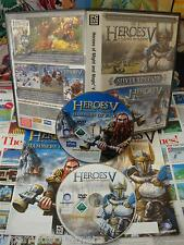 PC CD-Rom:Heroes of Might And Magic V - Silver Edition [TOP RPG] COMPLET - Fr