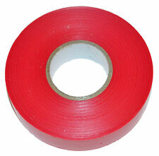 RED PVC Electrical Insulation Tape 20Mx 19mm x0.15mm