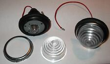 Front Marker Side lights 5watt or Reversing lights 12volt Durite Clear Round