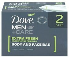 Dove Men+Care Body & Face Bar, 2 bars