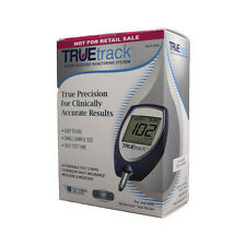 Truetrack Blood Glucose Monitoring System Complete kit Including 10 Test Strips