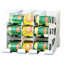 FIFO CAN TRACKER-FOOD STORAGE CAN ROTATOR-PANTRY  SHELF ORGANIZER FOOD ROTATION