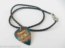 SABATON guitar pick plectrum braided twist LEATHER NECKLACE 20""