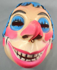 Vintage Vacuform Halloween Mask Made In France For Van Dam Carnival Circus
