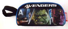 Marvel Comics Avengers Assemble Boy's Carry-On Double Compartment Pencil Case