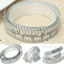 1.5 m  Silver Self Adhesive Measuring Tape Ruler Sticker For Sewing Machine Tool