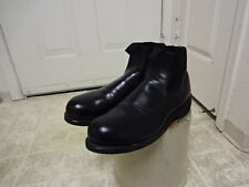 EXCELLENT COND USED ONCE VINTAGE ORIGINAL U.S NAVY SIDE GORE BOOTS 11 R ARMY