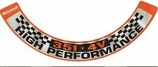 Ford Falcon XA-XB-XC & GT, 351 4V Air cleaner decal. New.