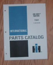 CUB CADET 1541 TRACTOR & ENGINE ILLUSTRATED PARTS LIST MANUAL