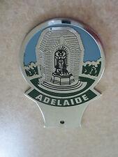 Vintage Adelaide car badge for Ford Holden Austin Morris VW Kombi Valiant MG