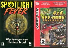 spotlight fever spot light fever & cabelas off road adventure   new&sealed