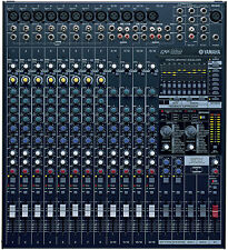 YAMAHA EMX5016CF 16CH POWERED DUAL FX FEEDBACK SUPPRESSOR MIXER $40 INSTANT OFF