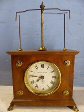 MOST UNUSUAL OLD NOVELTY MANTLE CLOCK - JEROME & CO 1883 - VERY RARE - L@@K