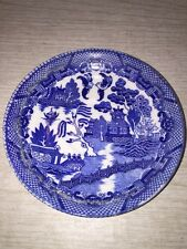 Vintage Blue Willow Saucer Made in Occupied Japan yamaka