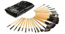 My Beauty 24 Pc Wooden Makeup Brush Set Black Birthday Bridal Party Favor [M8]Z&
