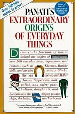Extraordinary Origins of Everyday Things by Charles Panati, Good Book