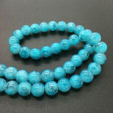 4mm 100Pcs Double Color Glass Pearl Round Spacer Loose Beads Jewelry Making 4#46