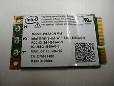 Intel 4965AGN MM1 D75593-008 Latitude D620 802.11agn Wireless WiFi PCI-E Card