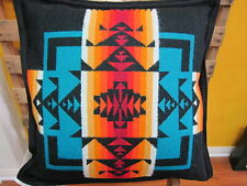 Pendleton Chief Joseph Pillow Black  Made in USA!!