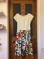 Boden Floral dress size 12 Excellent Condition
