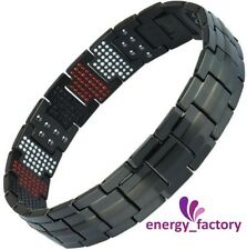 100% di Titanio Magnetico Energia germanio Power Health bracelet 4in1 BIO Bracciale