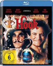 BLU-RAY HOOK (Peter Pan) DUSTIN HOFFMAN + ROBIN WILLIAMS + JULIA ROBERTS * NEU *