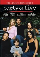 PARTY OF FIVE : COMPLETE SIXTH SEASON 6 - Region Free DVD - Sealed