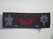 CELTIC FROST MORBID TALES WOVEN PATCH