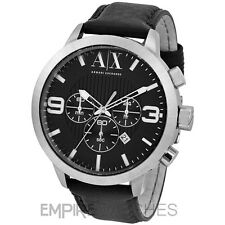 *NEW* MENS ARMANI EXCHANGE STREET BLACK CHRONO WATCH - AX1359 - RRP £175.00