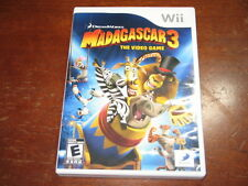Madagascar 3: The Video Game (Nintendo Wii) - Complete in Excellent Condition!