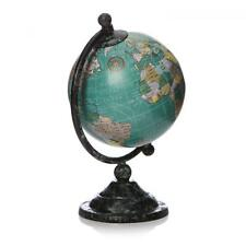 10cm World Globe Rotating Swivel Map of Earth Atlas Geography Vintage Mens Gift