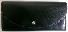 Hobo International Isla Wallet Clutch Black Top Grain Leather Photo Holder NWT