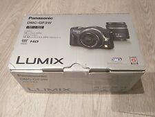 Panasonic LUMIX dmc-gf3 Micro 4/3 12.1mp - Nero Corpo con Scatola e Accessori