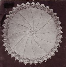 VINTAGE SHAWL / round 3ply - COPY baby knitting pattern