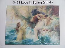 40% Off Golden Kite counted x-stitch chart - #3421 Love in Spring (small)