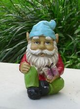 Concrete / Plaster mold Gnome with Butterfly Latex Only