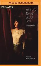 Aung San Suu Kyi : A Biography by Jesper Bengtsson (2016, MP3 CD, Unabridged)