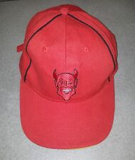 CASQUETTE ROUGE FOOT FOOTBALL EQUIPE BELGE BELGIQUE DIABLES ROUGES RED DEVILS