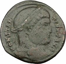CONSTANTINE I the GREAT RARE Ancient Roman Coin Victory Over SARMATIANS i39091