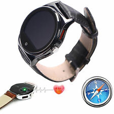 Bluetooth Smart Watch With Compass Heart Rate For Samsung Motorola iPhone Huawei