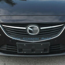 New 2pcs Chrome Front Grille Cover Trim For Mazda 6 Atenza 2014 2015