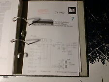 Dual Service Manual Verstärker CV 1280 uvm.: 1 Stück aussuchen/ choose 1 piece !