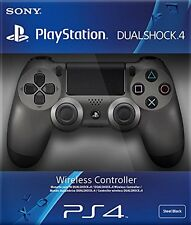 Official Sony Dualshock 4 Steel Black Controller PS4 Brand New