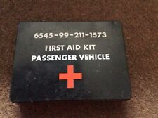 Military passenger vehicle first aid kit