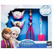 Frozen Disney - 4 Piece Cupcake Baking Children's Activity Set