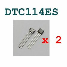 2 Lots DTC114ES DTC114 NTE2355 ROHM SEMICONDUCTOR TO-92 TO-92S DTC114ES